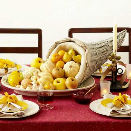 35 Ideas for Easy Thanksgiving Decorating