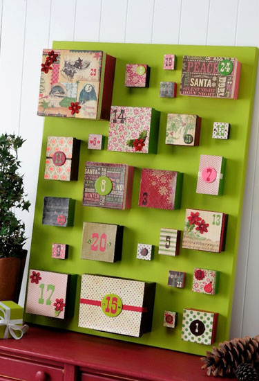 17 DIY Advent Calendars to Help You Count Down Christmas