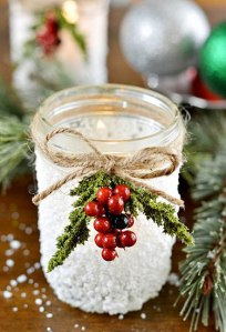 20 Magical Ways to Use Mason Jars This Christmas