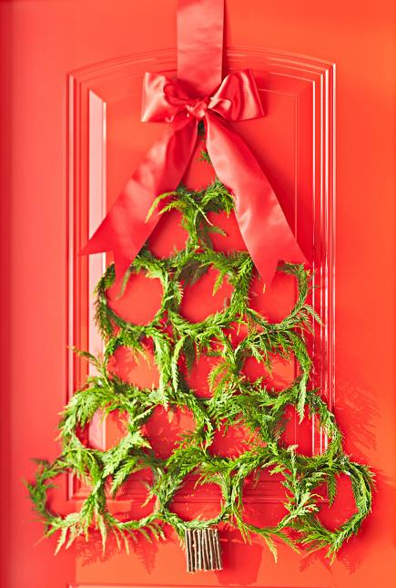 5 Clever—and Cheap—DIY Christmas Tree Alternatives