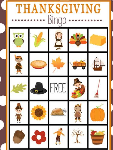 10 Kids' Thanksgiving Games