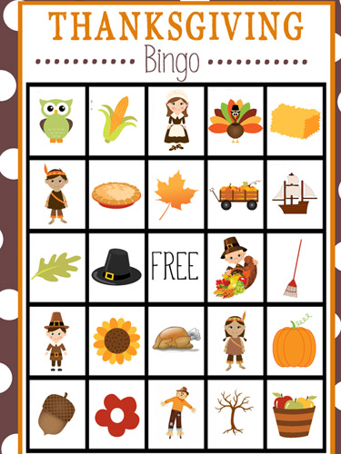 10 Kids' Thanksgiving Games