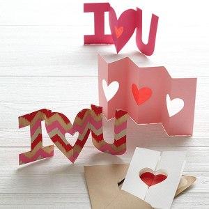 Handmade Valentine's Day Cards