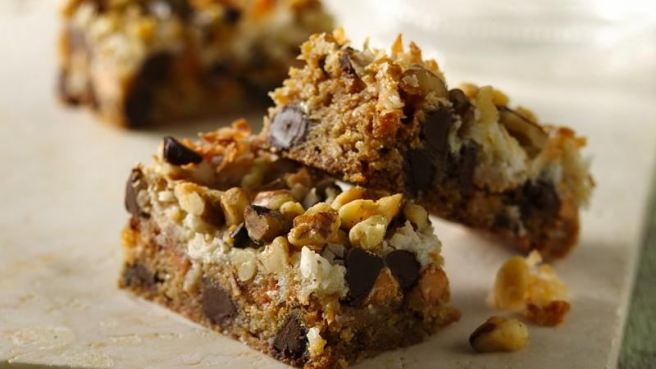 Gluten-Free Luscious Layer Bars