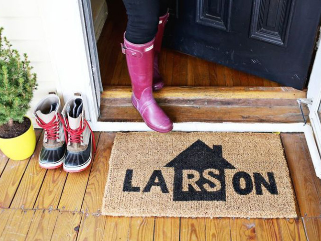 11 One-Hour DIYs To Make Your Entryway Pop