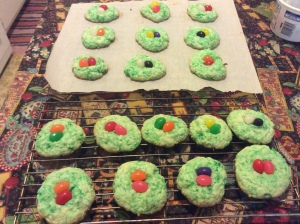 Coconut Easter Nest Cookies
