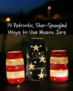 14 Patriotic, Star-Spangled Ways to Use Mason Jars