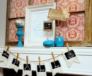 Fall Mantle Ideas